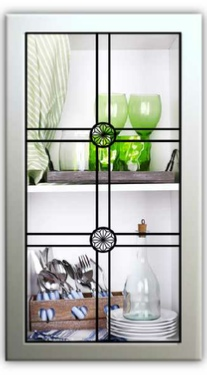 Cabinet Glass Inserts Leaded Glass Panels For Kitchen Cabinets