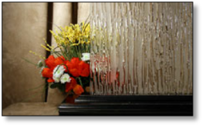 Cabinet Textured Niagara Frost Glass #HG-2080