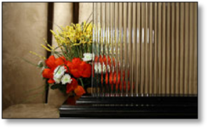 Cabinet Decorative Reeded Glass #HA-800