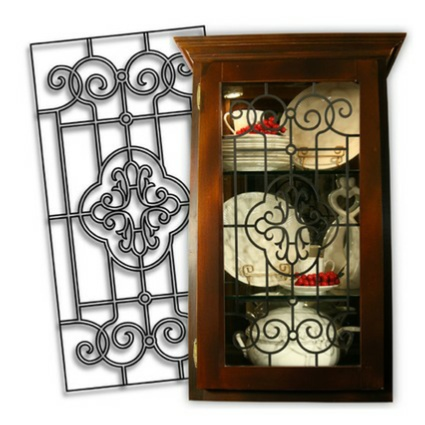 A great solution for kitchen cabinets, REAL Leaded Glass NOT an imitation