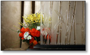 Cabinet Decorative Bamboo Frost #HG-2010